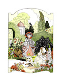 Types of Children - Child Life Giclee Print by Donn P. Drane