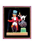 Circus Ringmaster - Child Life Giclee Print by John Gee