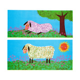 The Lamb - Jack & Jill Giclee Print by Madeline Gauron