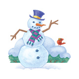 The Snowman Spin - Humpty Dumpty Giclee Print