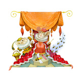 The Best Trick - Humpty Dumpty Giclee Print by Valerie Soklova