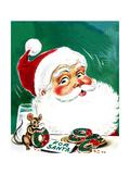 Cookies for Santa - Jack & Jill Giclee Print