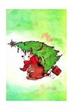 Disaster Area - Jack & Jill Giclee Print by Edith Osborn Corbett