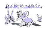 Larkspur - Jack & Jill Lámina giclée por Dorthea Cooke