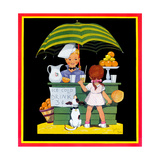 Lemonade Stand - Child Life Giclee Print by John Gee