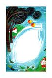 Whistling Wind - Jack & Jill Giclee Print by Allan Eitzen