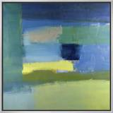 Abstract No.10 Framed Canvas Print by Diana Ong