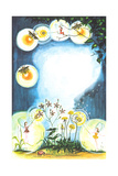 Midsummer Eve - Jack & Jill Giclee Print by Susan Carlton Smith