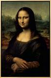 Mona Lisa, c.1507 Framed Canvas Print by  Leonardo da Vinci