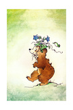 Easter Bonnet - Jack & Jill Giclee Print by Edith Osborn Corbett