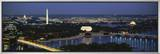 Washington DC, USA Framed Canvas Print by  Panoramic Images