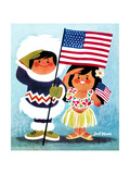 Alaska and Hawaii - Jack & Jill Giclee Print by Jack Weaver
