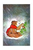 Storm Shelter - Jack & Jill Giclee Print by Edith Osborn Corbett