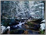 Adirondack Mountains, Lake Placid, NY Framed Canvas Print by Jim Schwabel