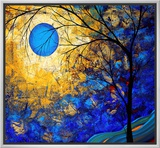 Renaissance Framed Canvas Print by Megan Aroon Duncanson