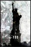 Liberation Framed Canvas Print by Alex Cherry