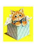Wrapped in a Bow - Jack & Jill Giclee Print by Wilmer H. Wickham