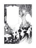 The Banquet - Child Life Lámina giclée por Mildred Lyon