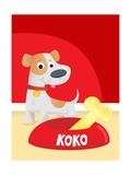Koko's Bone - Humpty Dumpty Giclee Print by  Rob McClurkan