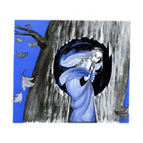 The Keyhole in the Tree Trunk - Jack & Jill Giclee Print by Ann Eshner