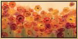 Summer Poppies Framed Canvas Print by Silvia Vassileva