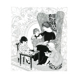 Puzzle Find St. Valentine - Child Life Giclee Print by Helen Hudson