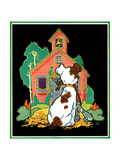 Back to School - Child Life Giclee Print by Keith Ward