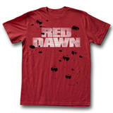 Red Dawn - Down On Me T-Shirt
