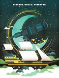 Explore Giclee Print by Ricky Linn