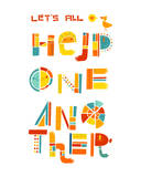 Help One Another Giclee Print by Lydia Nichols