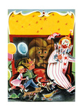 At the Circus - Child Life Giclee Print