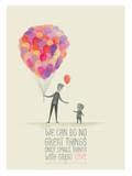 Small Things. Great Love. Giclée-Druck von Ciara Panacchia