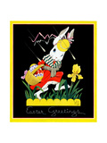 Easter Greetings - Child Life Giclee Print by John Gee