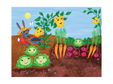 Time to Count-Garden - Turtle Giclee Print by Elisa Chavarri