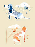 Spots Lámina giclée por Travis Ladue