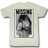 Missing In Action - Missing T-shirts