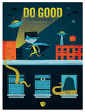 The Do Gooder Giclee Print by Allie Smith