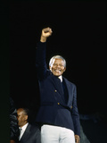 Nelson Mandela, London 1990 Photographie