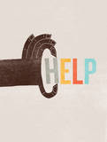 Help Giclee Print by Evan Stremke