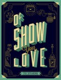 Show Your Love Giclee Print by Alex Perez