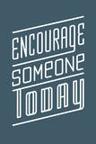 Encourage Giclee Print by Ryan Brinkerhoff