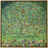 Apple Tree, 1912 Framed Canvas Print by Gustav Klimt