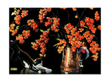 Still Life of Cat and Currants - Jack & Jill Giclee Print by Nelson Grafe