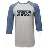 Muhammad Ali - TKO Blue (raglan) Shirts
