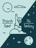 Thank God It's Today Giclee Print by Tyler Hoehne