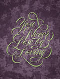 You Never Lose Giclee Print by Ryan Hamrick