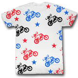 Evel Knievel - Flying T-Shirt