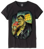 Juniors: Universal Monsters - Frank Get Ready Shirts
