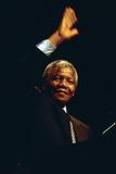 Nelson Mandela, 1990 Photographie