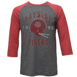 Saved By The Bell - Bayside Tigers (raglan) T-Shirt